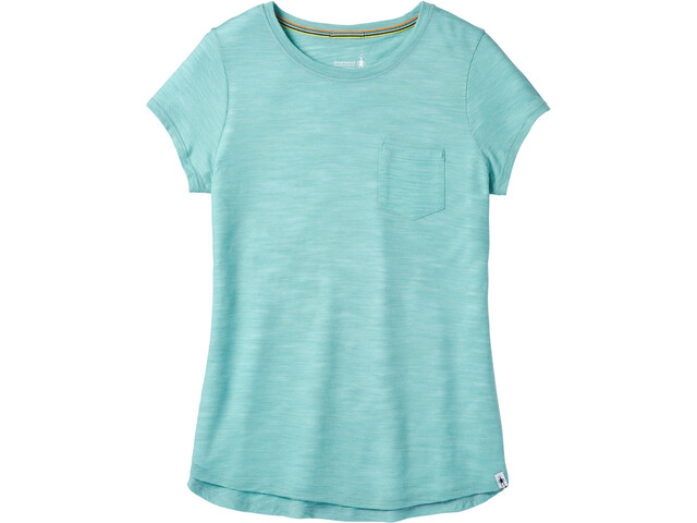 Smartwool Everyday Exploration Slub t-shirt Dames blauw